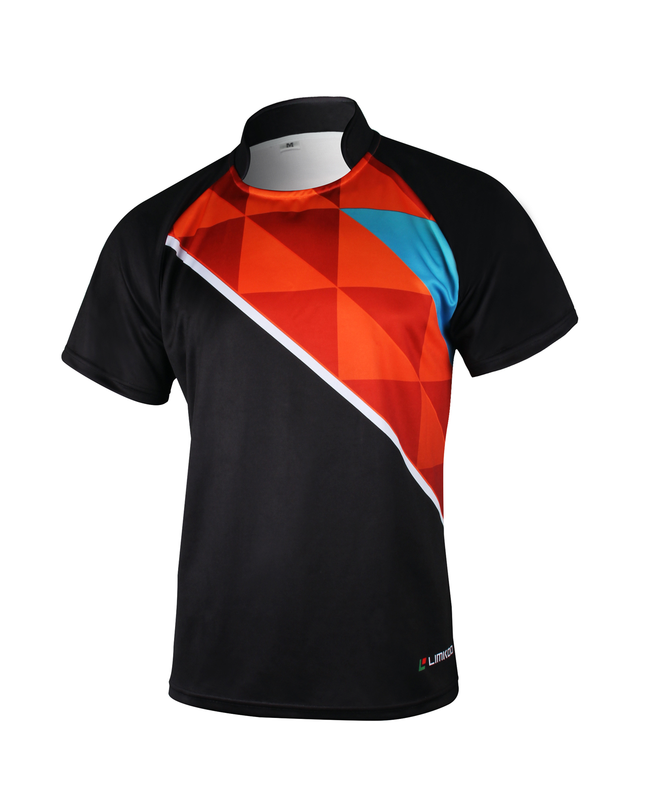 POLY POWER Short Sleeve Rugby Shirt