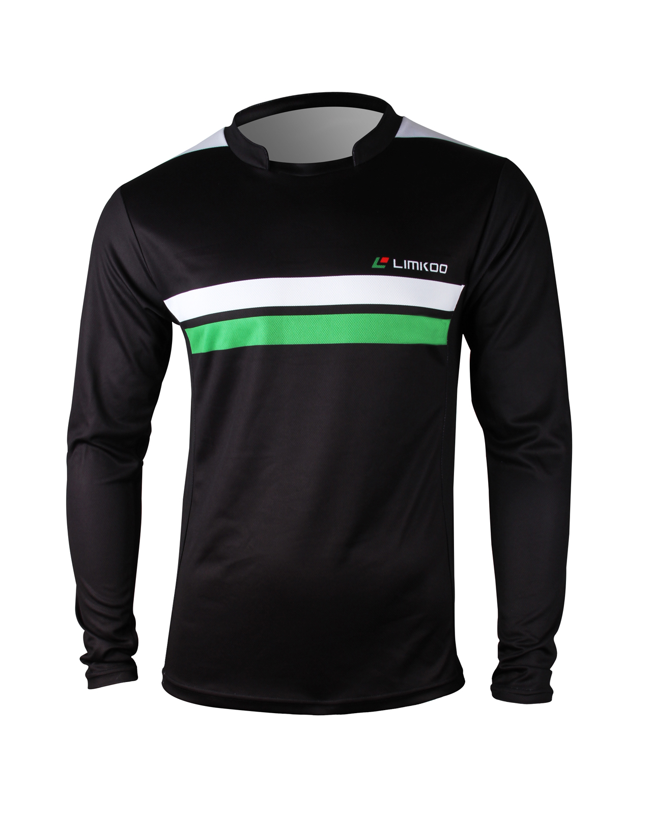 POLY POWER Long Sleeve Soccer Shirt