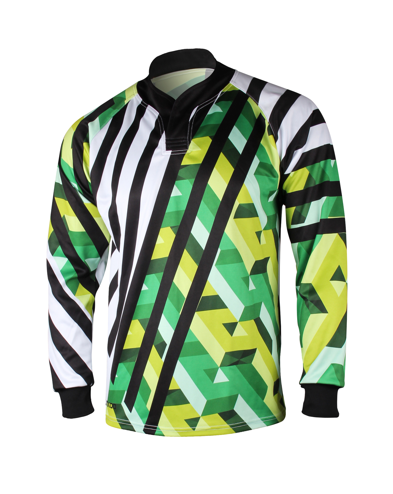 POLY POWER Long Sleeve Rugby Shirt