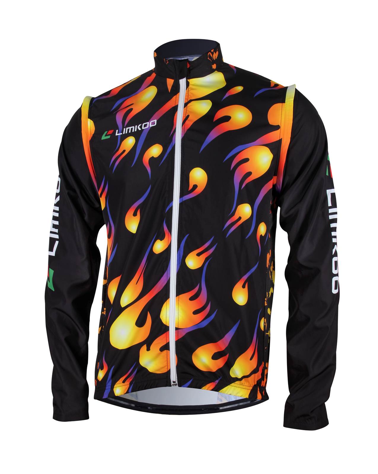 COOL SHELL Convertible Cycling Wind Jacket