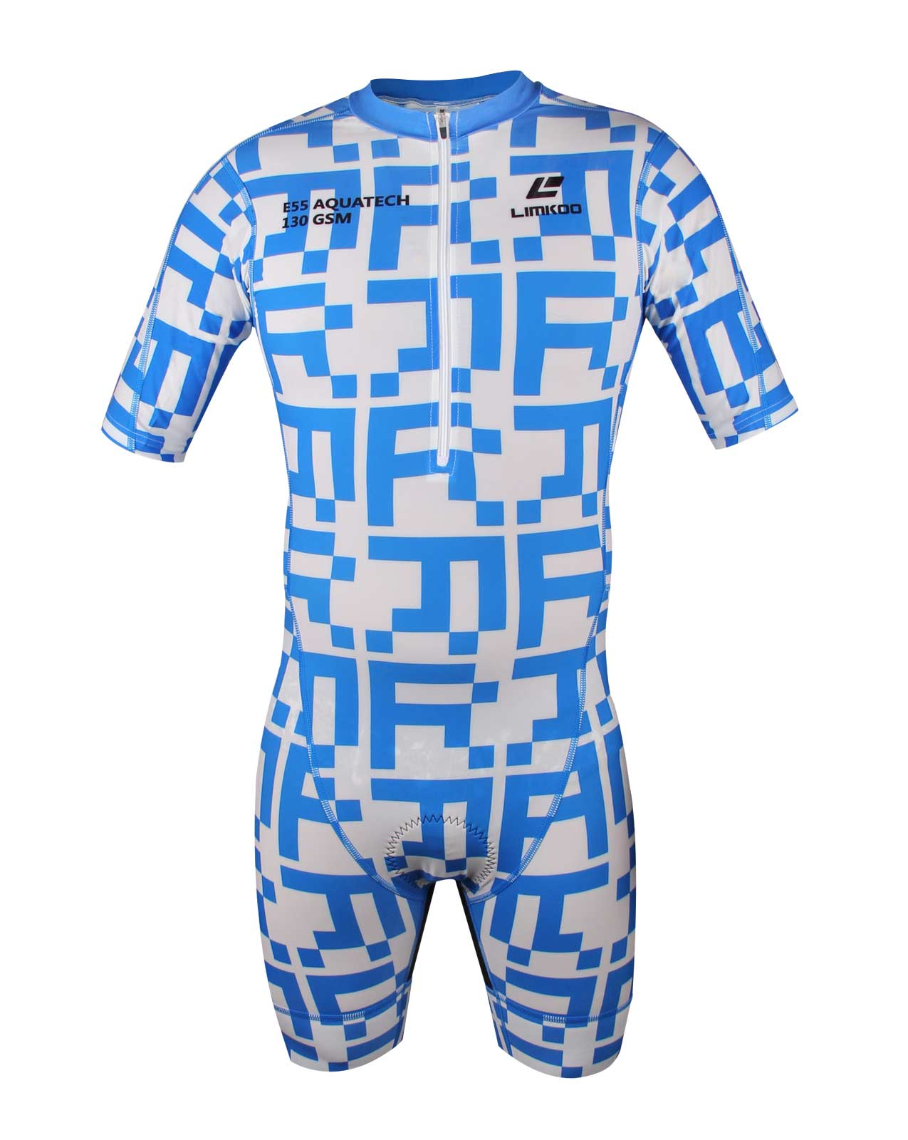 French AQUATECH Short Sleeve Tri Suit