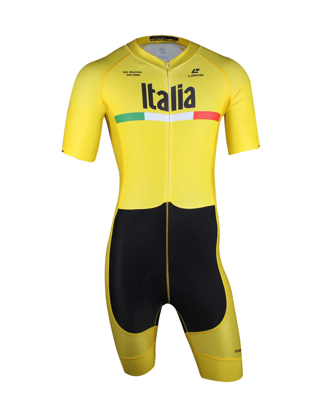 Italian FALCON Short Sleeve Cycling Skinsuit