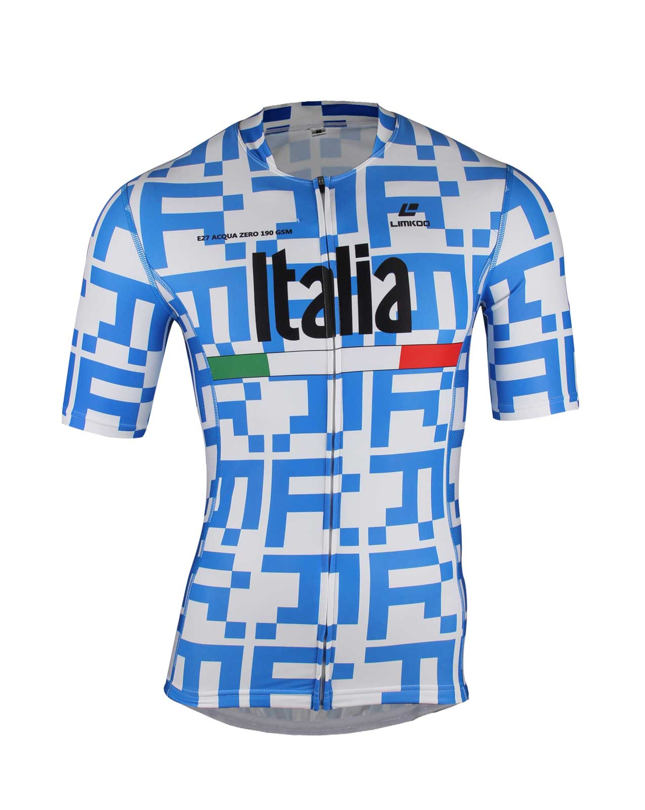 Italian ACQUA ZERO Short Sleeve Tri Top